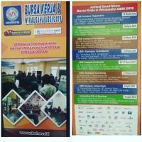 Informasi Bursa Kerja dilaksanakan pada Tanggal 9 April 2019 di UBSI Kampus Jatiwaringin.,